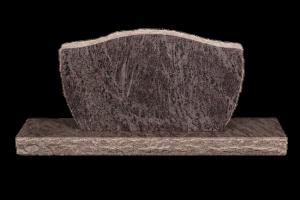 Nr 110 blár - Steinn H:57xB:100 - Sökkull 150x30 - Verð 295.000