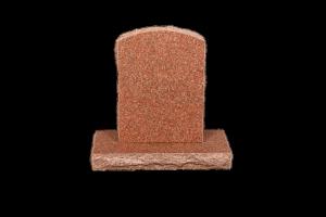 Nr 111 rauður - Steinn H:57xB:40 -Sökkull 66x32Verð 190.000