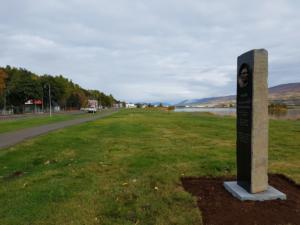 Minnisvarði   Káinn, Akureyri