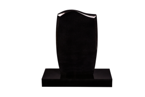 Nr 250-80 svartur - Steinn H:80xB:50 - Sökkull 80x35 - Verð 295.000