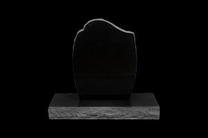 Nr 202 svartur - Steinn H:67xB:50 - Sökkull 80x35 - Verð 249.000