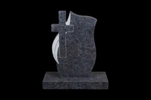 kross blár -Steinn H:70xB:65 - Sökkull 85x35 - Verð 360.000