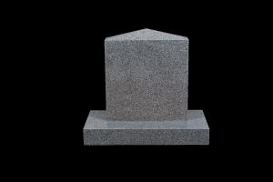 Nr 228 grár - Steinn H:46xB:40 - Sökkull 60x30 - Verð 155.000